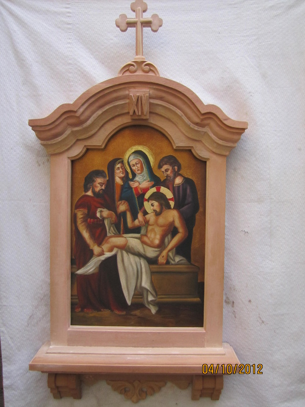 brand new stations of the cross w new frame