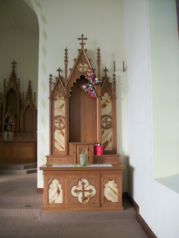 Attrayant Simple Catholic Home Altar Designs