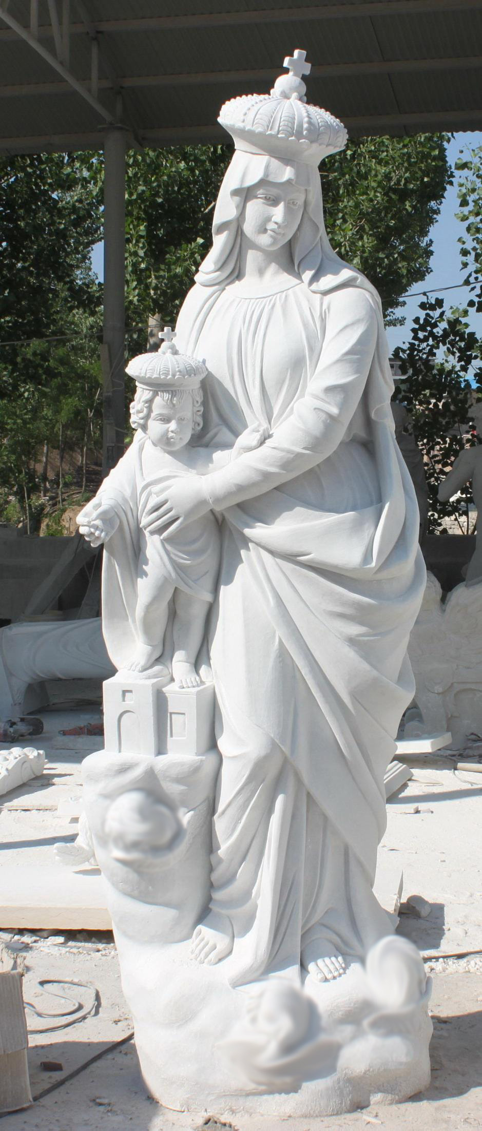 Marble Religious and Church Statues available now - FYNDERS